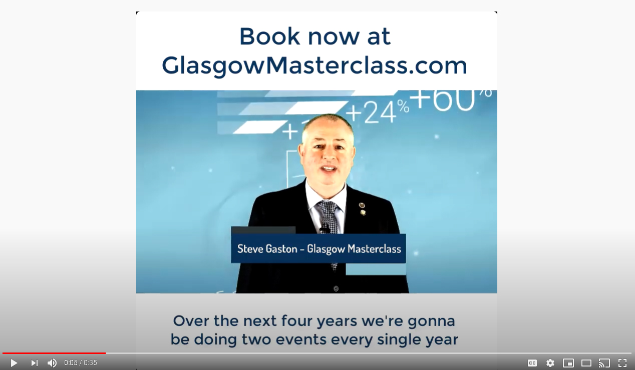 Masterclass Sessions 2 Steve Gaston Interview video